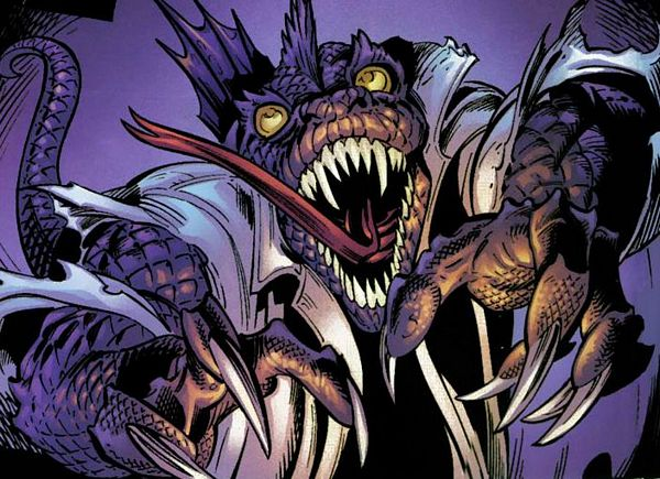 Ultimate Spider Man Lizard